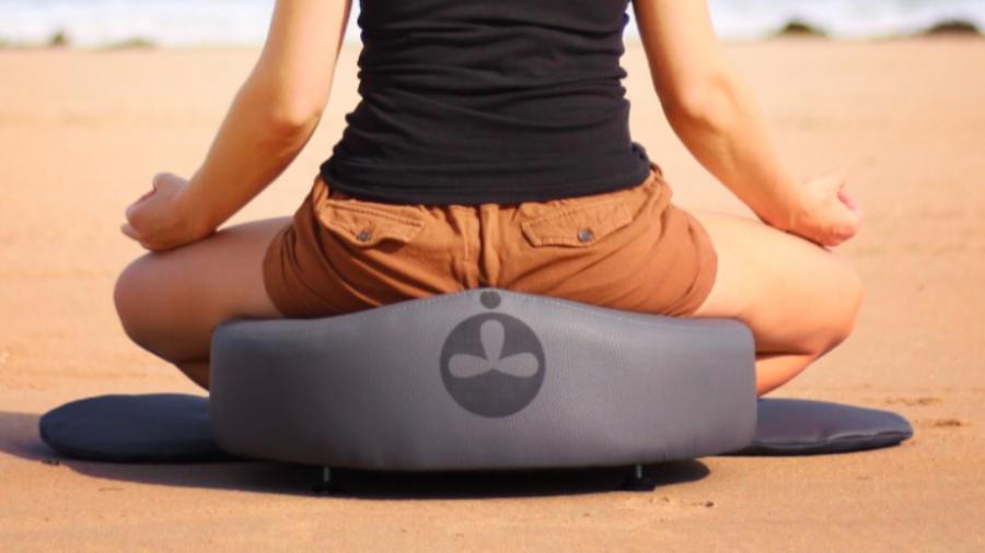 ergonomisches höhenverstellbares Meditationskissen
