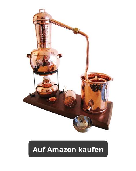 Desilliergerät bronze zur Herstellung von ätherischen Ölen